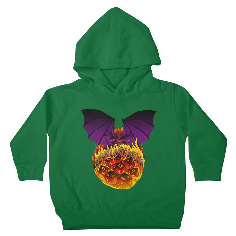 Conflagration -Text Free Kids Toddler Pullover Hoody by Joe Abboreno's Artist Shop