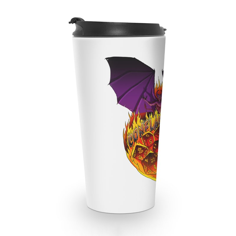 Conflagration -Text Free Accessories Travel Mug by Joe Abboreno's Artist Shop