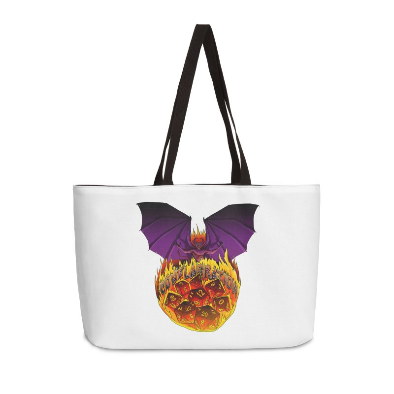 Conflagration -Text Free Accessories Weekender Bag Bag by Joe Abboreno's Artist Shop