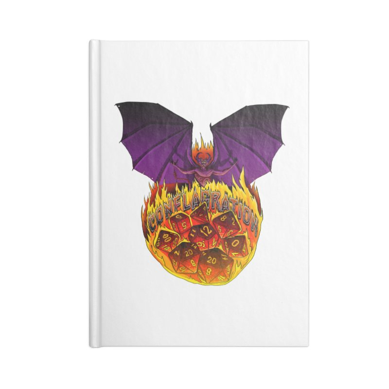 Conflagration -Text Free Accessories Lined Journal Notebook by Joe Abboreno's Artist Shop