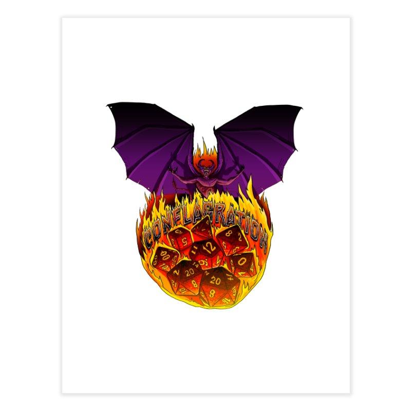 Conflagration -Text Free Home Fine Art Print by Joe Abboreno's Artist Shop