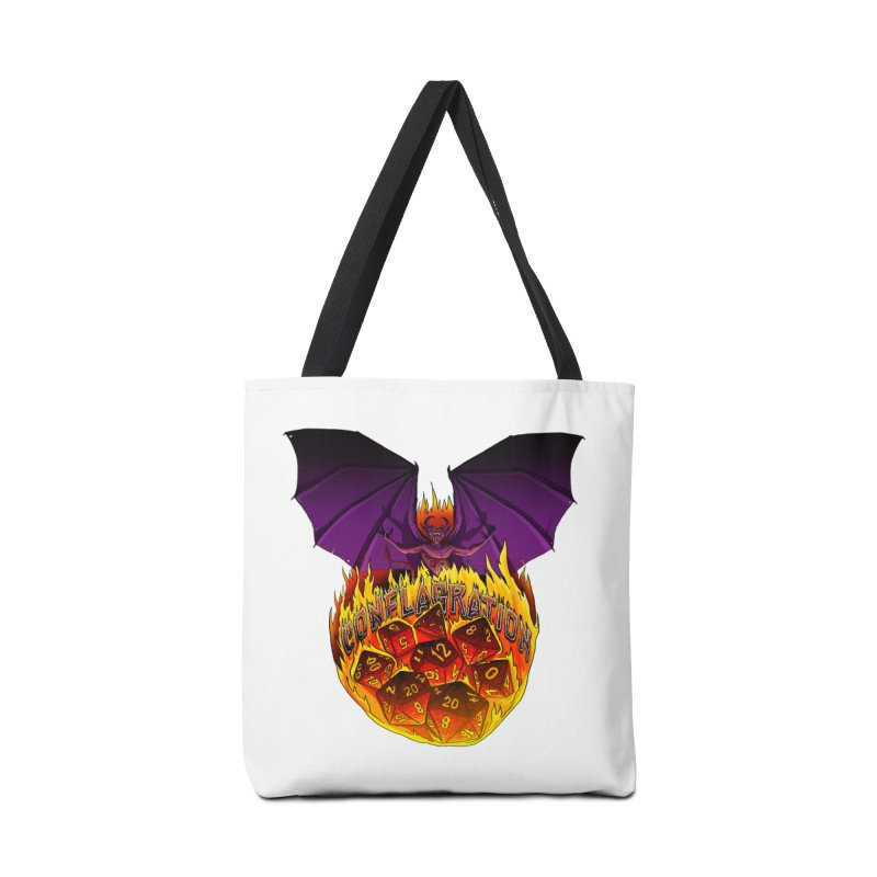 Conflagration -Text Free Accessories Tote Bag Bag by Joe Abboreno's Artist Shop