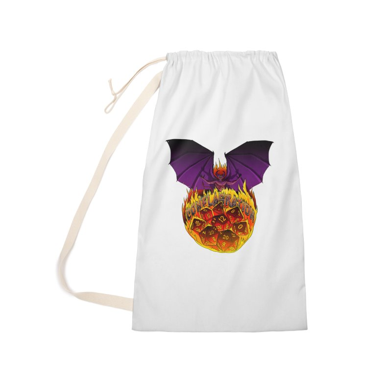 Conflagration -Text Free Accessories Laundry Bag Bag by Joe Abboreno's Artist Shop