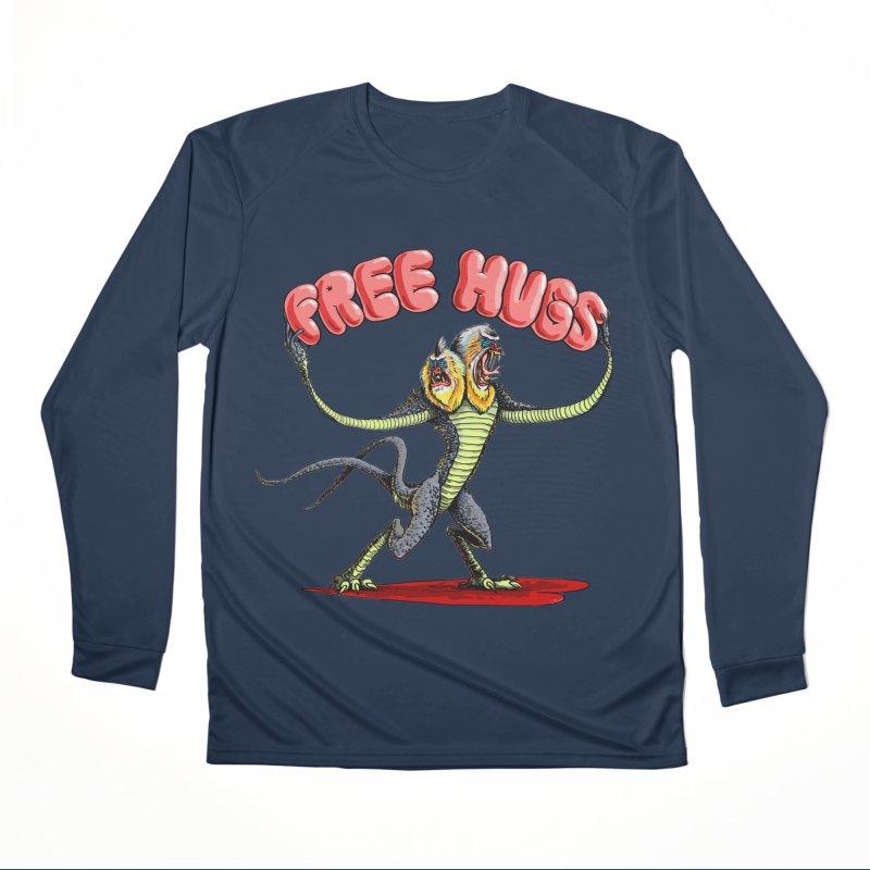 Free Hugs Demogorgon Men's Performance Longsleeve T-Shirt by Joe Abboreno's Artist Shop