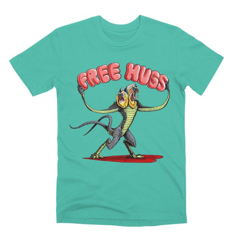 Free Hugs Demogorgon Men's Premium T-Shirt by Joe Abboreno's Artist Shop