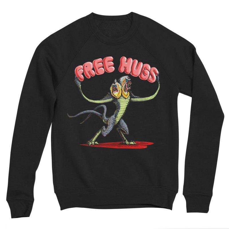Free Hugs Demogorgon Women's Sponge Fleece Sweatshirt by Joe Abboreno's Artist Shop