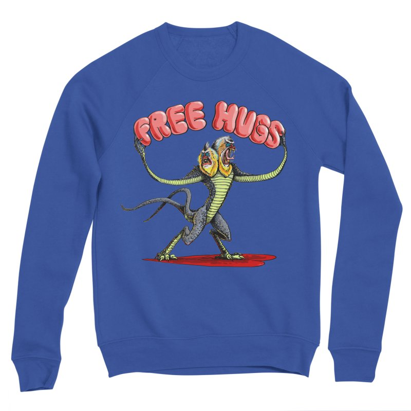 Free Hugs Demogorgon Men's Sponge Fleece Sweatshirt by Joe Abboreno's Artist Shop