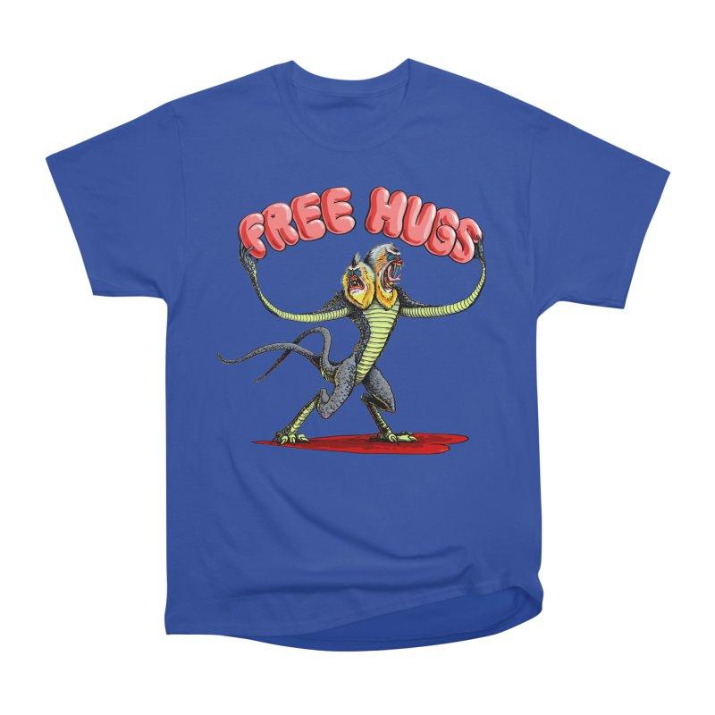 Free Hugs Demogorgon Women's Heavyweight Unisex T-Shirt by Joe Abboreno's Artist Shop