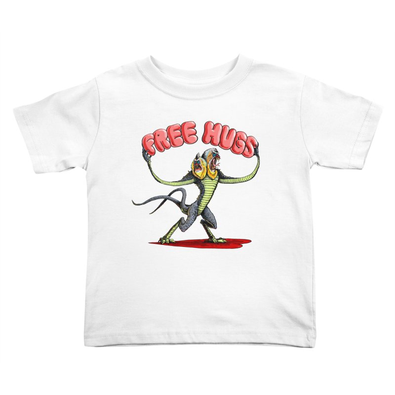 Free Hugs Demogorgon Kids Toddler T-Shirt by Joe Abboreno's Artist Shop