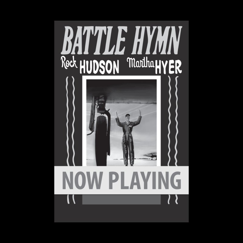 Battle Hymn Poster Replica Design Women's V-Neck by Joe Abboreno's Artist Shop