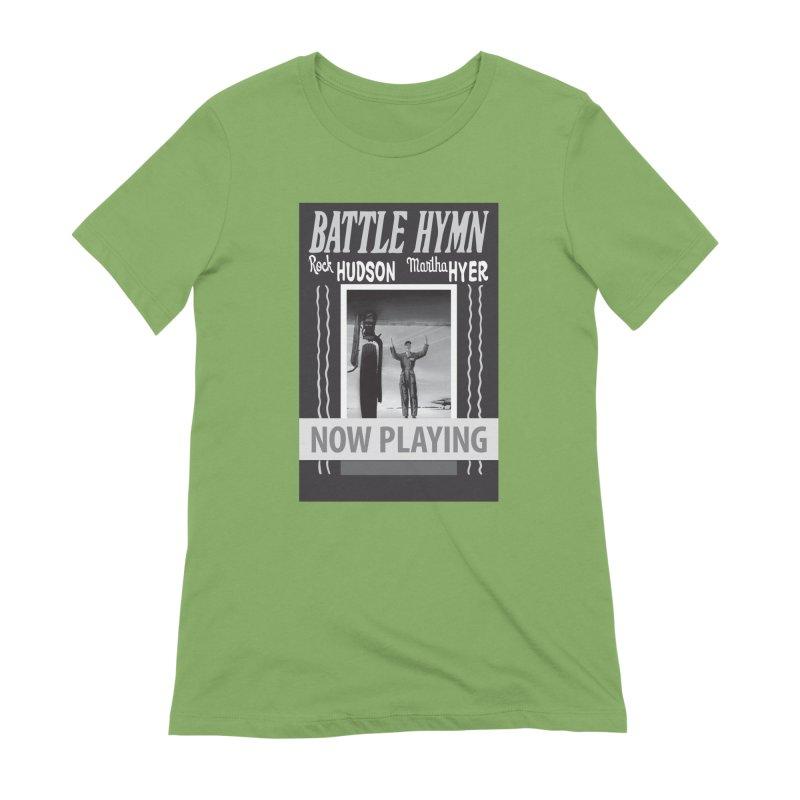 Battle Hymn Poster Replica Design Women's Extra Soft T-Shirt by Joe Abboreno's Artist Shop