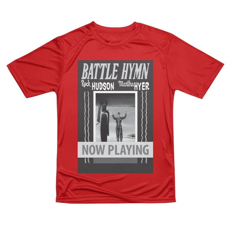 Battle Hymn Poster Replica Design Women's Performance Unisex T-Shirt by Joe Abboreno's Artist Shop