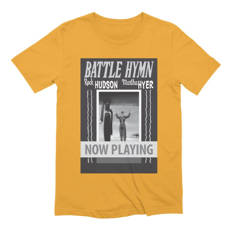 Battle Hymn Poster Replica Design Men's Extra Soft T-Shirt by Joe Abboreno's Artist Shop