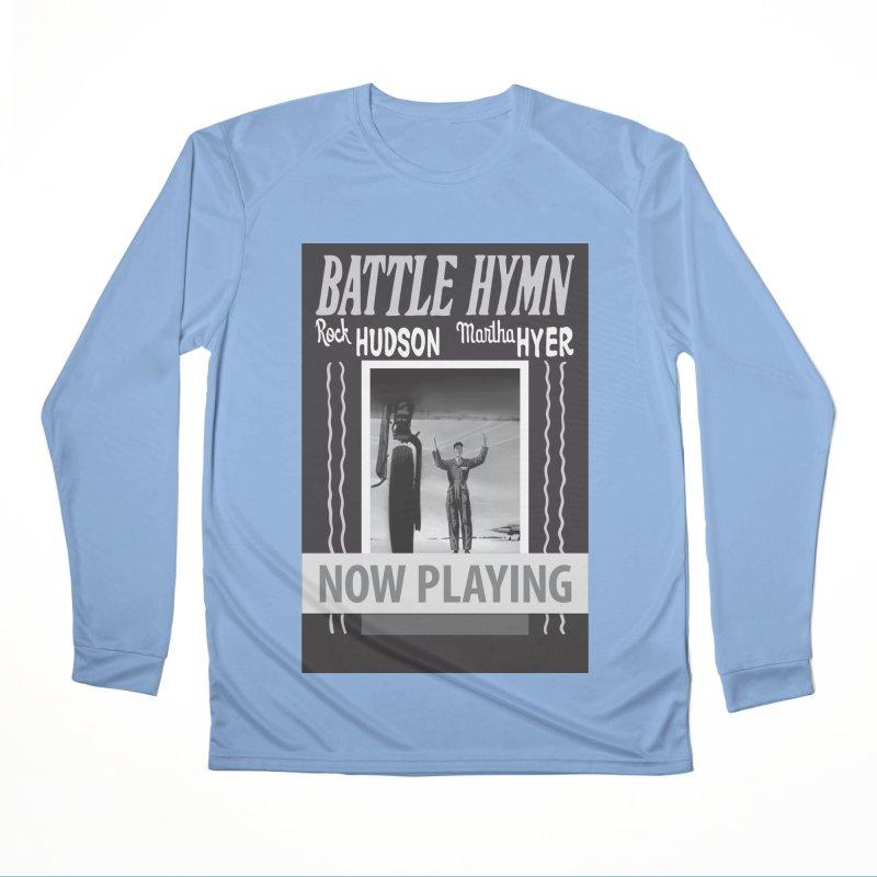 Battle Hymn Poster Replica Design Men's Performance Longsleeve T-Shirt by Joe Abboreno's Artist Shop