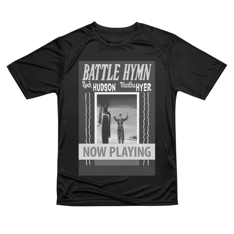 Battle Hymn Poster Replica Design Men's Performance T-Shirt by Joe Abboreno's Artist Shop