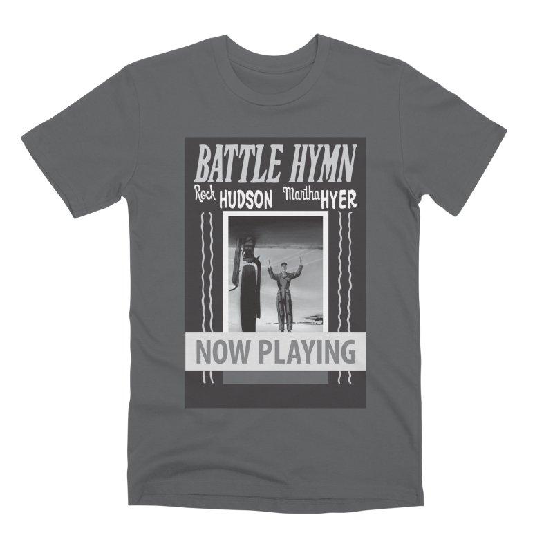Battle Hymn Poster Replica Design Men's Premium T-Shirt by Joe Abboreno's Artist Shop