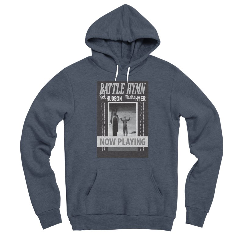 Battle Hymn Poster Replica Design Men's Sponge Fleece Pullover Hoody by Joe Abboreno's Artist Shop