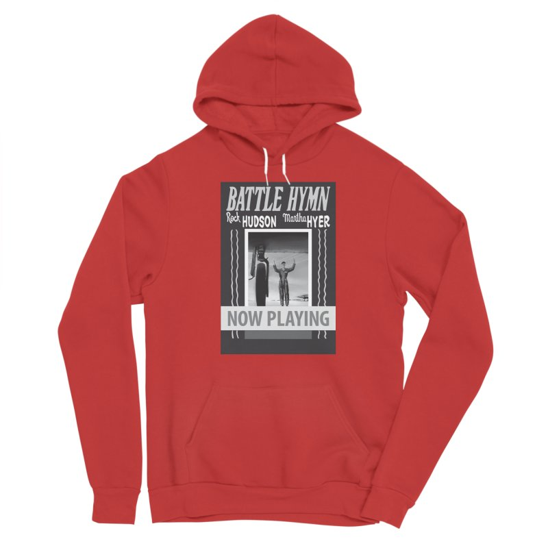 Battle Hymn Poster Replica Design Women's Sponge Fleece Pullover Hoody by Joe Abboreno's Artist Shop