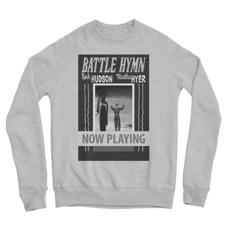 Battle Hymn Poster Replica Design Women's Sponge Fleece Sweatshirt by Joe Abboreno's Artist Shop