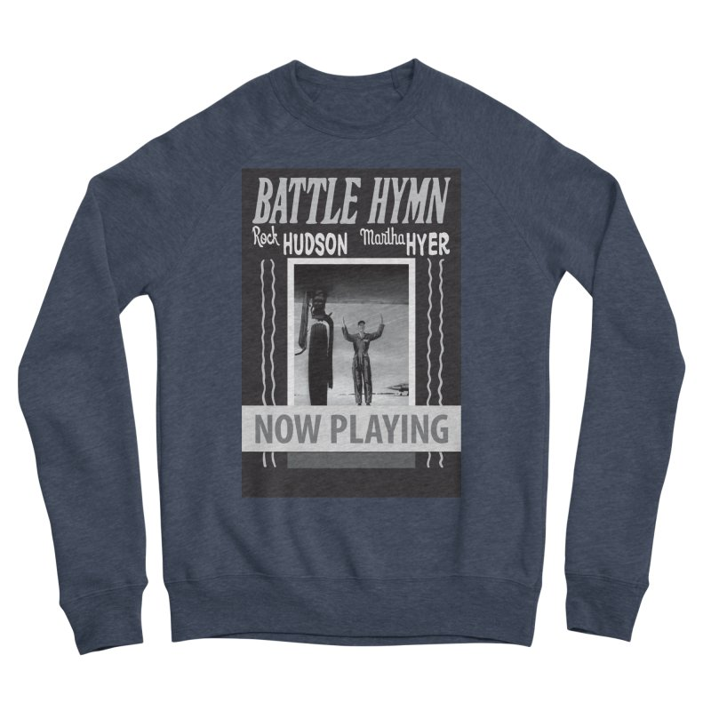 Battle Hymn Poster Replica Design Men's Sponge Fleece Sweatshirt by Joe Abboreno's Artist Shop