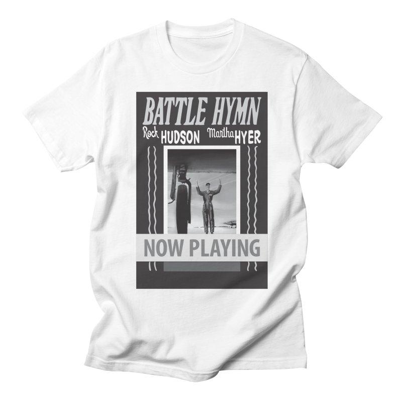Battle Hymn Poster Replica Design Women's Regular Unisex T-Shirt by Joe Abboreno's Artist Shop