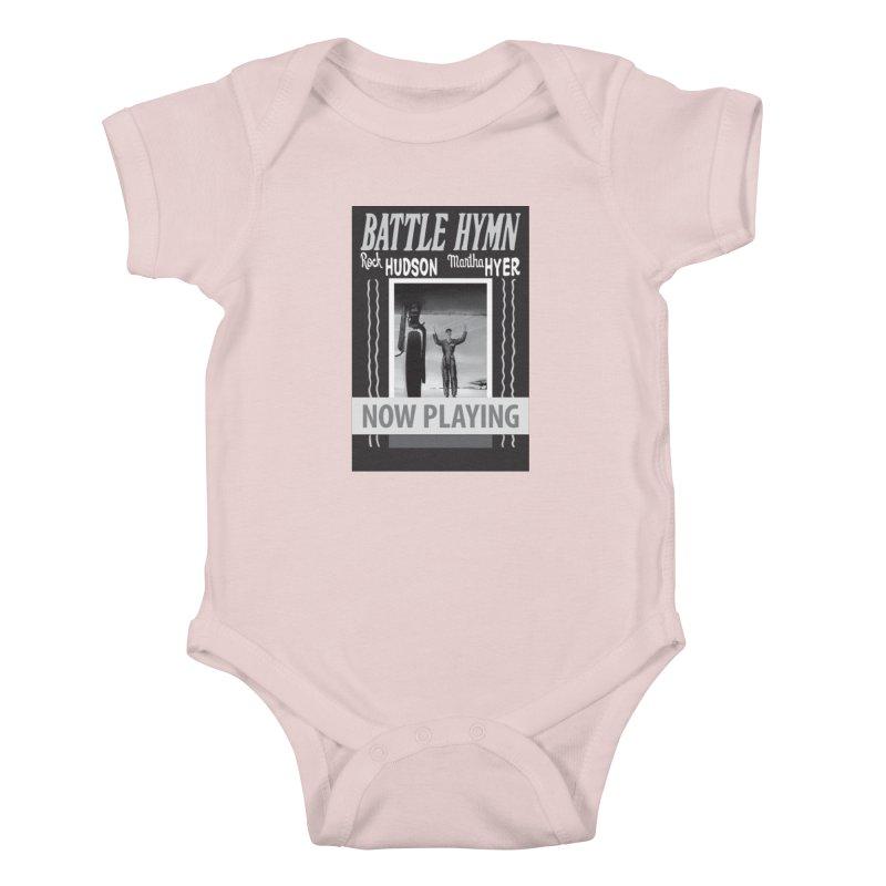 Battle Hymn Poster Replica Design Kids Baby Bodysuit by Joe Abboreno's Artist Shop