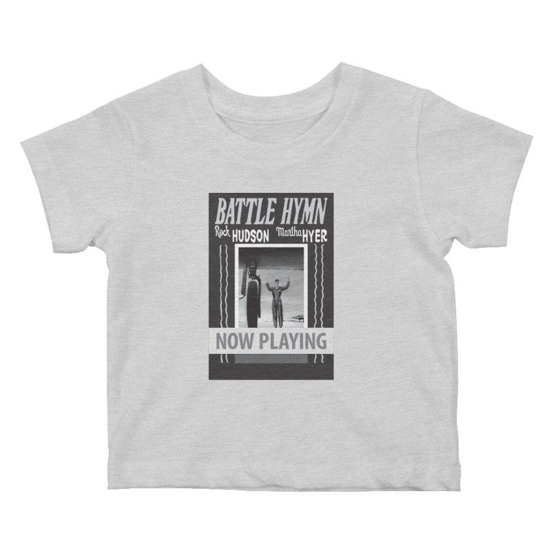 Battle Hymn Poster Replica Design Kids Baby T-Shirt by Joe Abboreno's Artist Shop