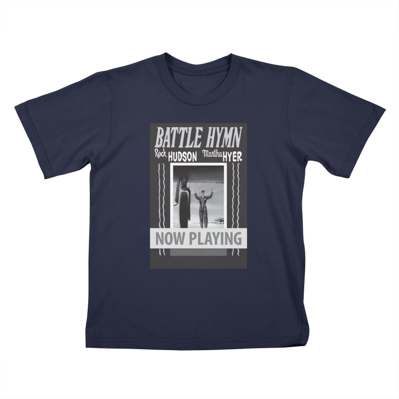 Battle Hymn Poster Replica Design Kids T-Shirt by Joe Abboreno's Artist Shop