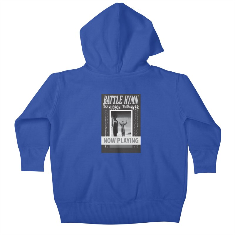 Battle Hymn Poster Replica Design Kids Baby Zip-Up Hoody by Joe Abboreno's Artist Shop