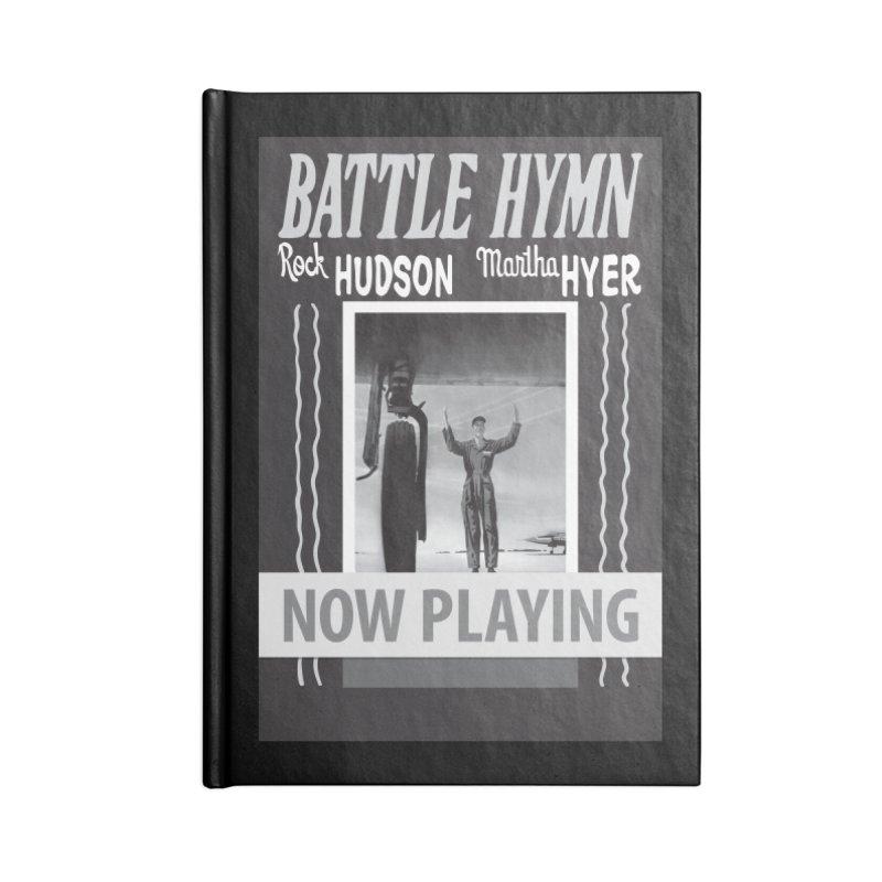 Battle Hymn Poster Replica Design Accessories Lined Journal Notebook by Joe Abboreno's Artist Shop