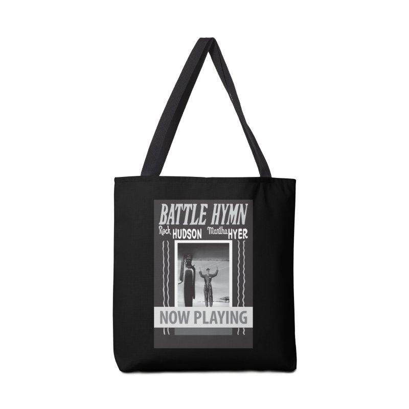 Battle Hymn Poster Replica Design Accessories Tote Bag Bag by Joe Abboreno's Artist Shop