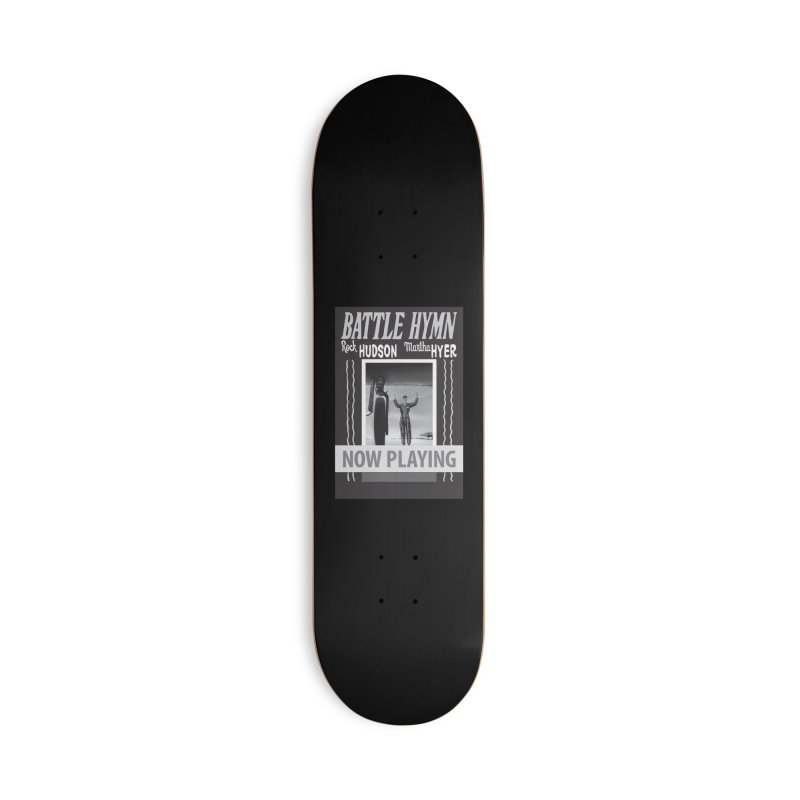Battle Hymn Poster Replica Design Accessories Skateboard by Joe Abboreno's Artist Shop