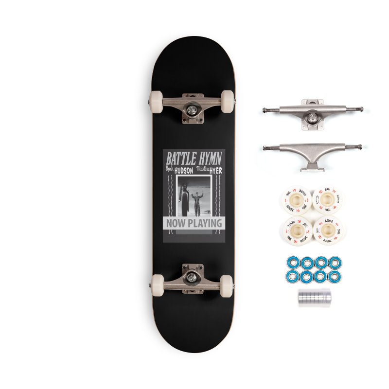 Battle Hymn Poster Replica Design Accessories Complete - Premium Skateboard by Joe Abboreno's Artist Shop