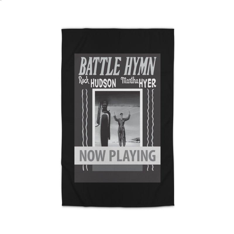 Battle Hymn Poster Replica Design Home Rug by Joe Abboreno's Artist Shop
