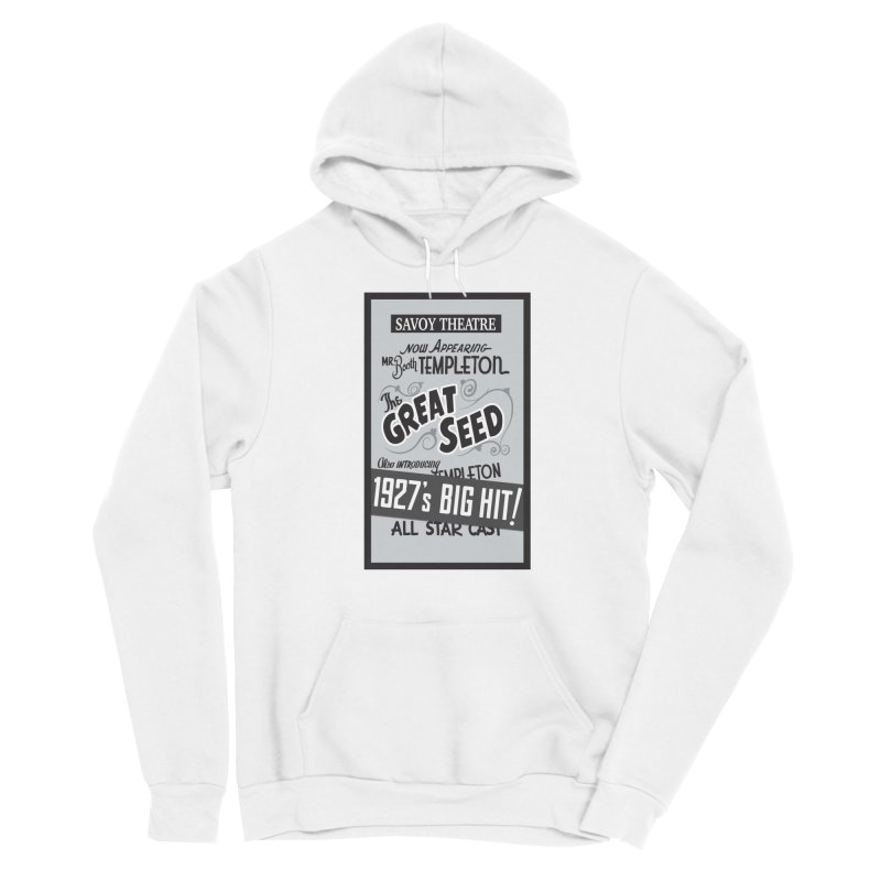 The Great Seed, Replica Poster Women's Sponge Fleece Pullover Hoody by Joe Abboreno's Artist Shop