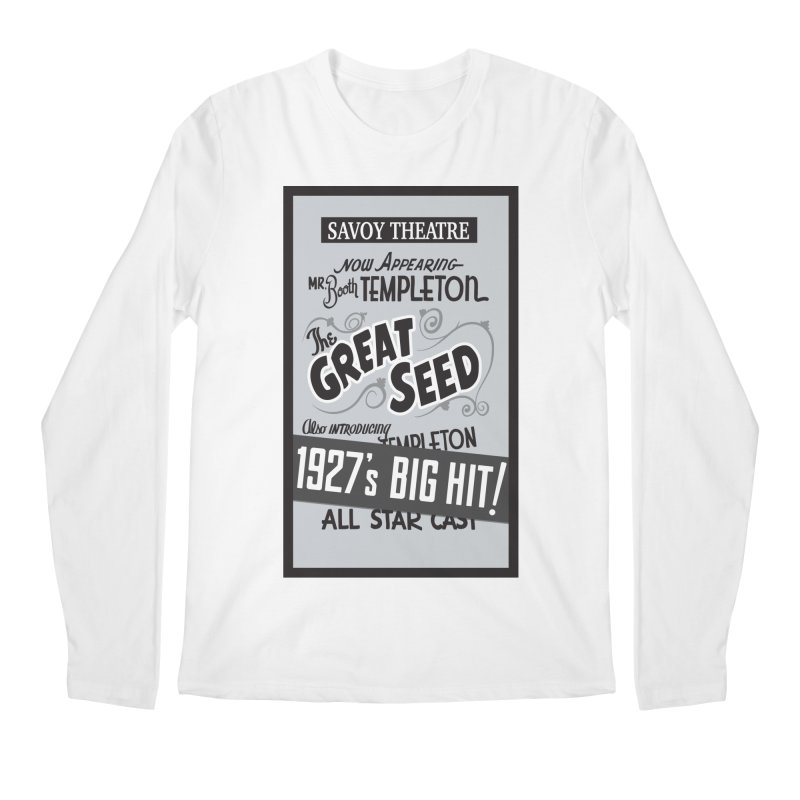 The Great Seed, Replica Poster Men's Regular Longsleeve T-Shirt by Joe Abboreno's Artist Shop