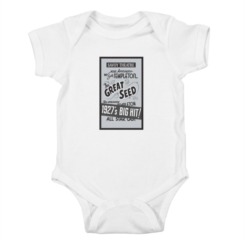 The Great Seed, Replica Poster Kids Baby Bodysuit by Joe Abboreno's Artist Shop