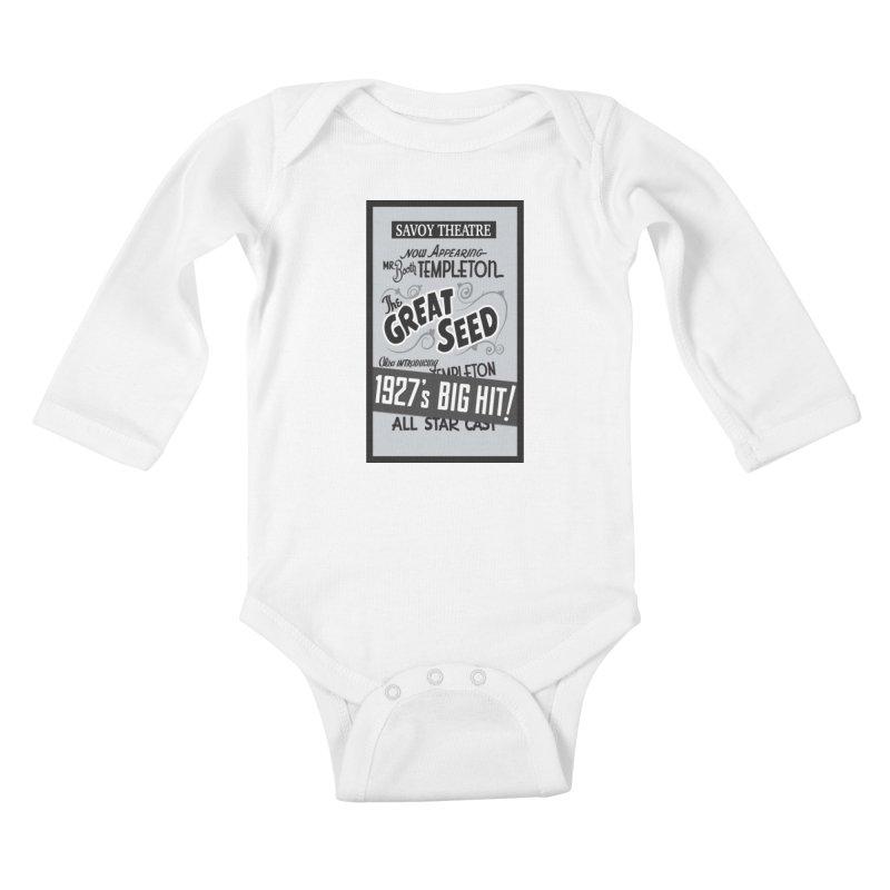 The Great Seed, Replica Poster Kids Baby Longsleeve Bodysuit by Joe Abboreno's Artist Shop