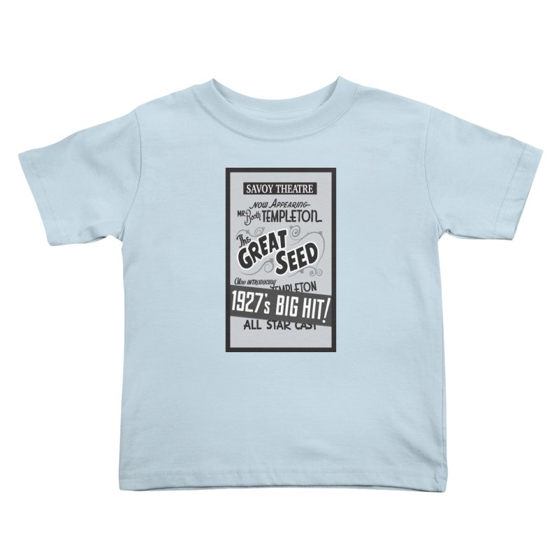 The Great Seed, Replica Poster Kids Toddler T-Shirt by Joe Abboreno's Artist Shop