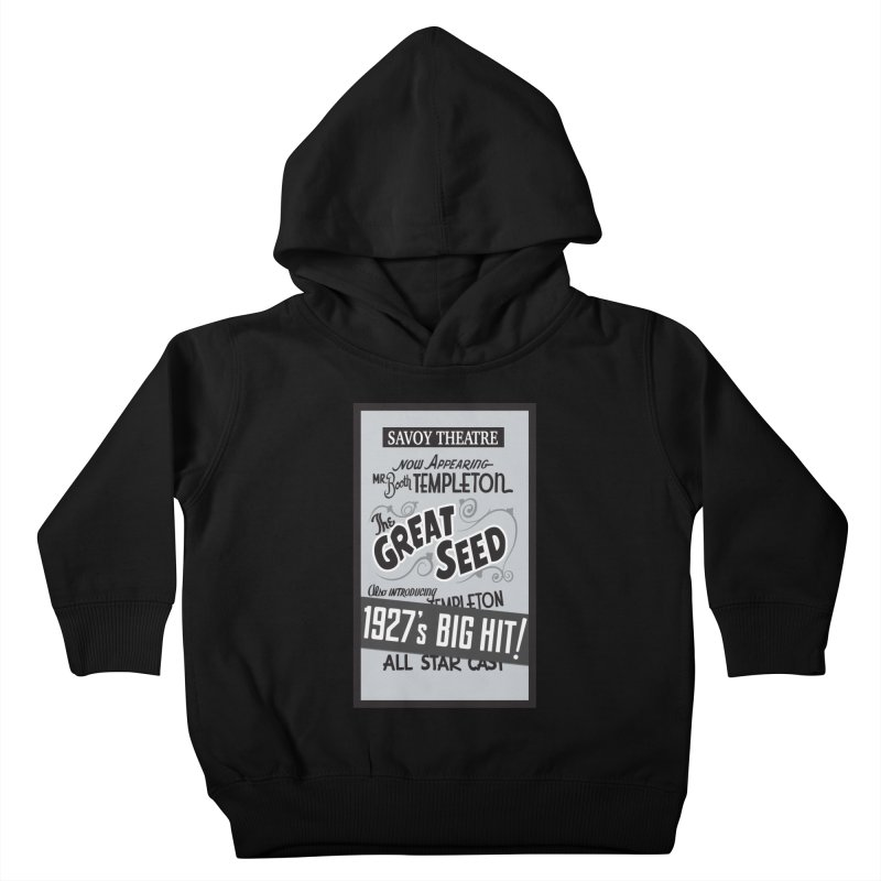 The Great Seed, Replica Poster Kids Toddler Pullover Hoody by Joe Abboreno's Artist Shop