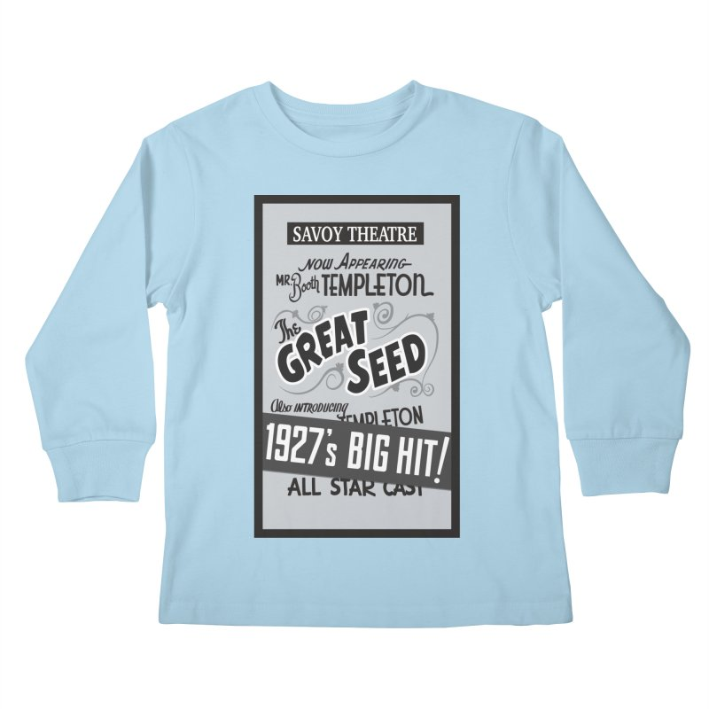 The Great Seed, Replica Poster Kids Longsleeve T-Shirt by Joe Abboreno's Artist Shop