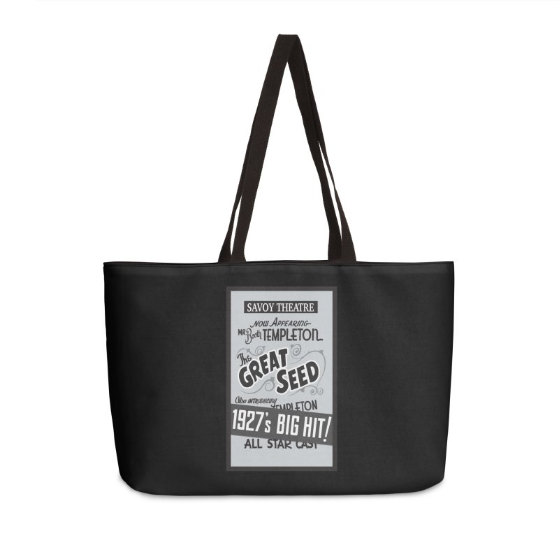 The Great Seed, Replica Poster Accessories Weekender Bag Bag by Joe Abboreno's Artist Shop