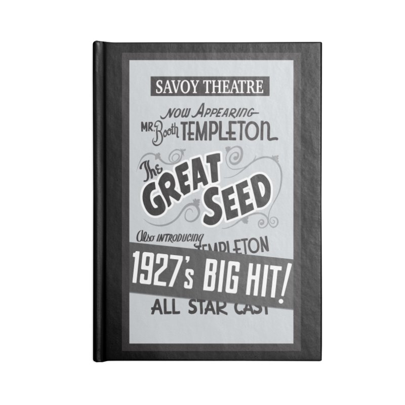 The Great Seed, Replica Poster Accessories Notebook by Joe Abboreno's Artist Shop