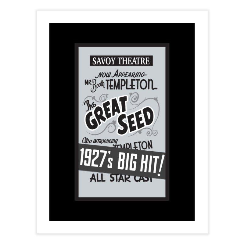 The Great Seed, Replica Poster Home Fine Art Print by Joe Abboreno's Artist Shop