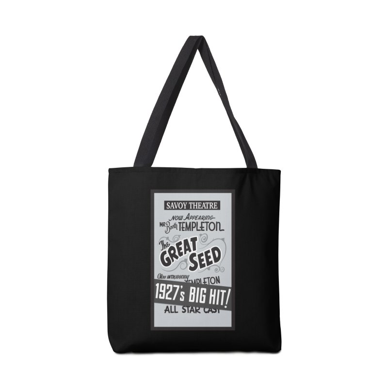 The Great Seed, Replica Poster Accessories Tote Bag Bag by Joe Abboreno's Artist Shop