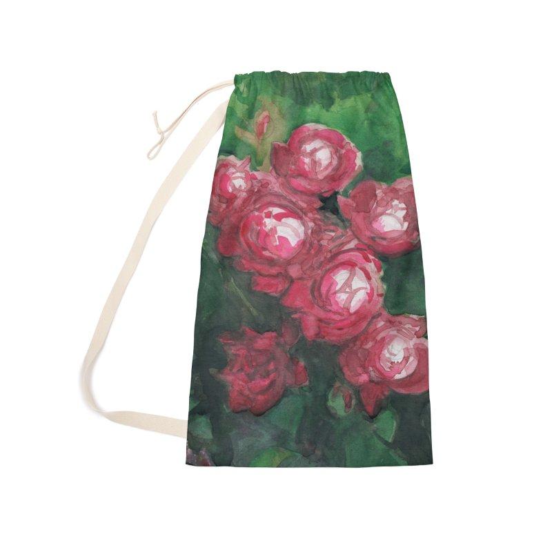Roses Along the Walk Accessories Bag by Joe Abboreno's Artist Shop