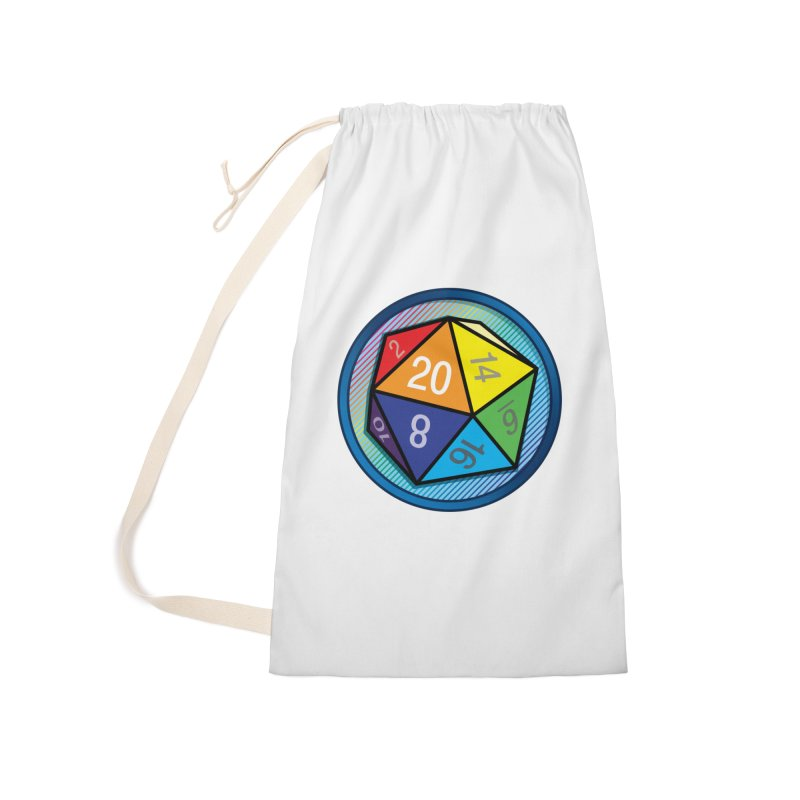 d20 Pride Accessories Bag by Joe Abboreno's Artist Shop