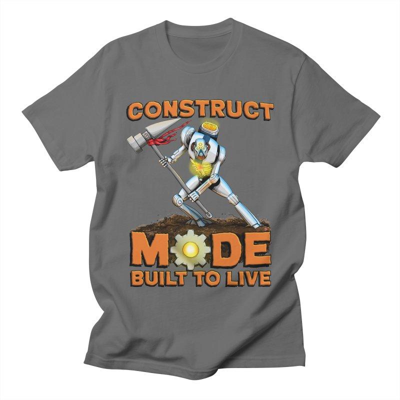 Construct Mode Men's T-Shirt by Joe Abboreno's Artist Shop