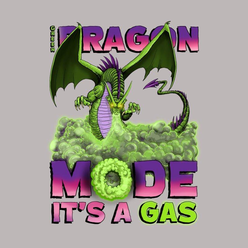 Green Dragon Mode Men's T-Shirt by Joe Abboreno's Artist Shop