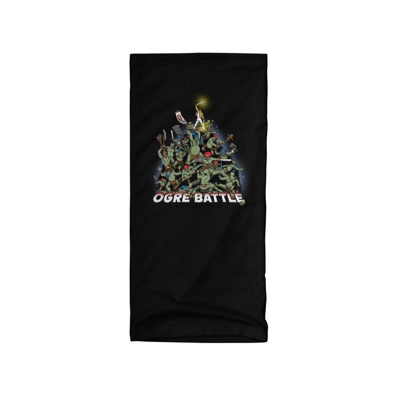 Ogre Battle! Accessories Neck Gaiter by Joe Abboreno's Artist Shop